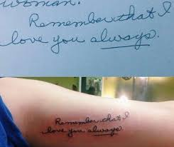 best 25 handwriting tattoos ideas on pinterest tattoo of
