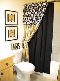 yellow black white bathroom ideas thesouvlakihouse com