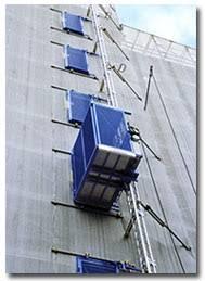 ascensore a cremagliera ascensori da cantiere euroedile srl ponteggi treviso