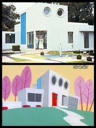 Movies Villa Til That The Powerpuff Girls House U0027s Design Was Inspired By The