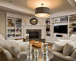 Built In Bookshelves Fireplace by Corner Fireplace Design With Built In Entertainment Center And