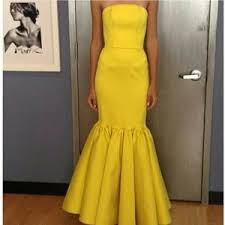 yellow special occasion dresses for women blissink com