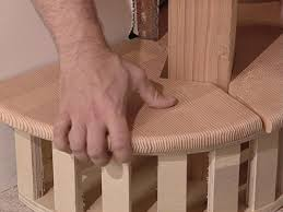 how to build staircase balusters and newel posts how tos diy cut tread for back portion of base