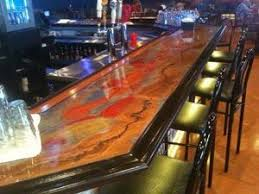 Basement Bar Top Ideas Charming Cool Ideas For Bar Tops Pictures Best Inspiration Home