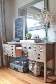 Apothecary Console Table How To Build A Faux Apothecary Cabinet The Created Home