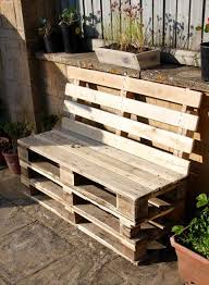 How To Make Pallet Patio Furniture by Diy Pallet Outdoor Sofa Diy And Crafts