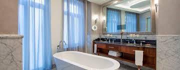 salle de bain style romain hôtel waldorf astoria jerusalem hôtels de luxe à jérusalem