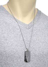 engravable dog tag necklace sterling silver thin vertical engravable bar pendant wholesale