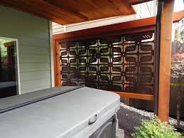backyard patio privacy screens enjoy your rest and relax with