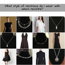 wear necklace images First friday fashion what necklace to wear with what neckline jpg