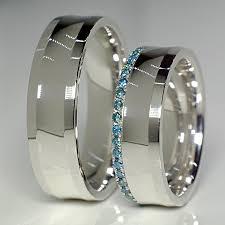 verighete cu diamant verighete din aur cu diamante albastre v127 alianzas