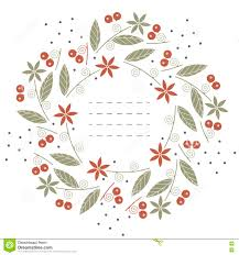 round wedding invitations beautiful round frame with flowers leaves and berries on white