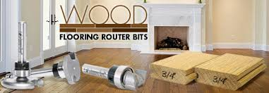 flooring router bits with rounded dedicated cutter bearings