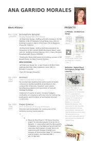 Cad Drafter Resume Architectural Designer Resume Samples Visualcv Resume Samples