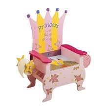 table chaise fille chambre enfant chaise enfant idée originale princesse