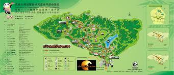 Giant Map The Chengdu Research Base Of Giant Panda Breeding Utravelshare