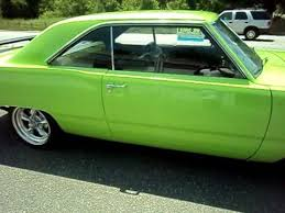 lime green dodge dart 1973 dogde dart 318 17 inch wheels pro touring lime green on ebay