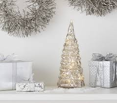 lhuillier light up mercury trees pottery barn