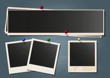 retro polaroid photo frame template set stock vector image 84876597