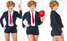 there is now a u0027sexy donald trump u0027 halloween costume telegraph