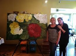 steph u0027s paint studio april 23 25 2014 large canvas painting