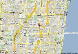 map of ft lauderdale map of la quinta inn cypress creek fort lauderdale fort lauderdale