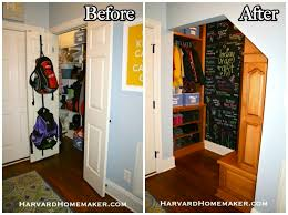 Create Storage Space With A Transform A Closet Under Your Stairs To Create A Fun And