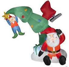 christmas inflatables outdoor christmas ebay