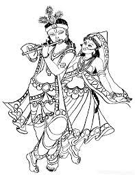 images of line drawing krishna google search drawings