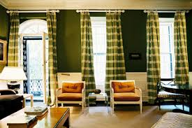 Horizontal Stripe Curtains Bohemian Bedroom Design Green Horizontal Stripe Curtain Dark