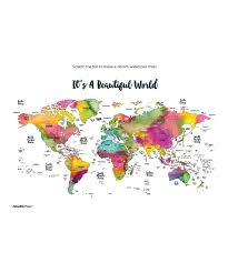World Scratch Map by Jetsettermaps Scratch Your Travels World Map Wall Art Zulily