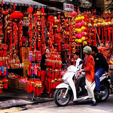 Vietnamese New Year Decoration by Celebrating Tet In Hanoi Solo Wayfarer