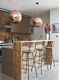 cuisine du bar 1001 idées déco pour aménager une cuisine style industriel