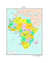 African Countries Map Maps Of Africa