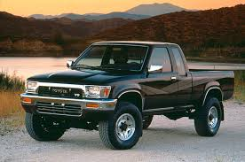 old toyota lifted 20 years of the toyota tacoma and beyond a look through the years