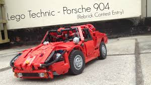porsche 904 rear lego technic porsche 904 rebrick contest entry youtube