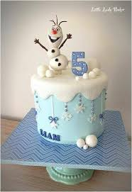Christmas Cake Decorations Frozen by Cute Olaf Cake I Like Her Added Touch Of Sparkle To The Snow And