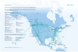 Iberia Route Map by Westjet Encore World Airline News