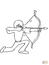 11 images of bow and arrow hunting coloring pages bow and arrow