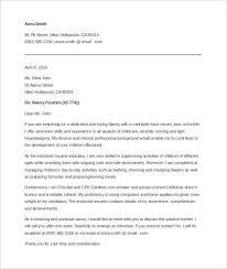 sample cover letter for babysitting job