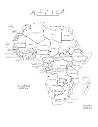 africa map test test of africa study guide