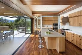 cuisine rustique moderne cuisine rustique contemporaine 50 idées de meubles en bois