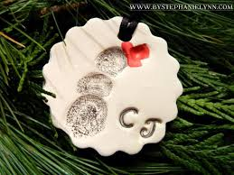 thumbprint clay ornaments infarrantly creative