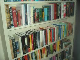 Read Bookshelves by All About N Bookcase Of The Week Starring Stacie Of