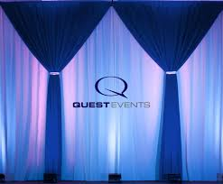 Event Drape Rental Pipe And Drape Rental Nationwide Event Rentals Quest Events