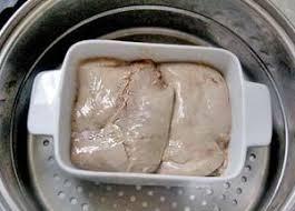 cuisiner le foie de lotte terrine de foie de lotte à la japonaise la table de diogène est ronde