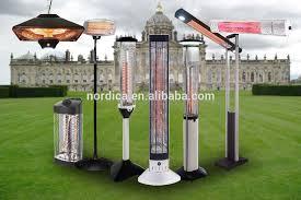 Electric Outdoor Patio Heater Vertical Wall Mount Carbon Fiber Patio Heater Outdoor Infrared