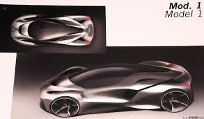 ferrari sketch the ferrari laferrari proposals that didn u0027t make the cut