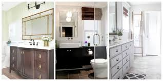 Space Above Kitchen Cabinets Ideas 5 Inspiring Bathroom Makeovers