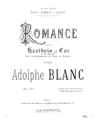 quotes about music on piano romance op 43b blanc adolphe imslp petrucci music library